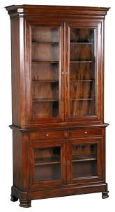 tall bookcase with glass doors bookshelf with glass doors antique bookcase with glass doors for