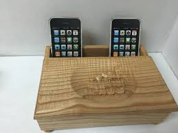 phone charger organizer custom wooden cell phone charging station organizer
