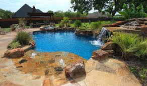 Average Cost Of Backyard Landscaping Inground Pool Costs Swimmingpool Com