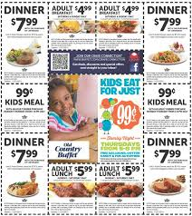Old Country Buffet Recipes by Old Country Buffet Various Printable Coupons Coupons