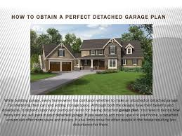 how to obtain a perfect detached garage by behm garage plans