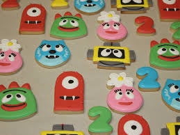Yo Gabba Gabba Party Ideas by Yo Gabba Gabba Cookies Cakecentral Com