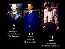 10th Doctor Meme - nine ten and eleven doctor who know your meme