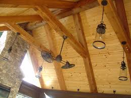 covered porch pine v groove tongue and groove ceiling with