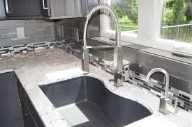 kitchen backsplash 4x12 glass tile and glass mosaic mix design kitchen backsplash glass tile and glass mosaic mix