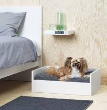 Dog Beds Made Out Of End Tables Ikea Launches Pet Furniture Collection Curbed