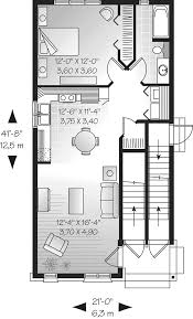 dual family house plans dormount triplex design plan 032d 0608 house plans and more