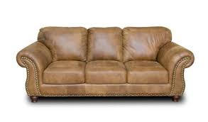 Full Aniline Leather Sofa Nice Brown Leather Leathergroups Arizona - Full leather sofas