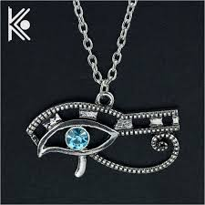 eye charm necklace images Eye of horus ancient egypt pendant necklace wedjat eye jewelry jpg