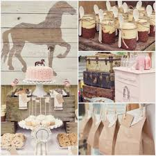 Vintage Birthday Decorations Vintage Pony Themed 4th Birthday Party With Lots Of Really Great