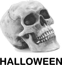 free halloween graphic skull with halloween free halloween vector clipart illustration
