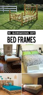 Gorgeous Bed Frames Gorgeous Ideas For Bed Frames That You Can Diy
