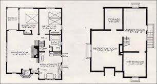 basement homes small house plans with basement beautiful 1937 better homes