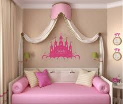 Pink Wall Decor by Princess Wall Decals Plan Ideas Inspiration Home Designs