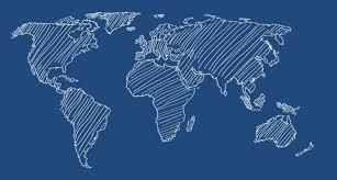 map vector world map vector line designers revolution premium vector