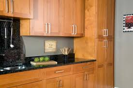 Wood Kitchen Furniture Wholesale Spice All Wood Maple Cabinets Full Overlay Doors Sweet