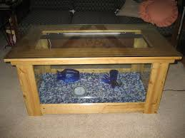 coffee table stylish fish tank coffee table designs cozy clear
