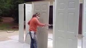 Spray Painting Interior Doors Door Painting System U0026 Wooden Door Panel Window Paint Spray