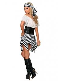 Halloween Pirate Costumes White Shoulder Womens Halloween Pirate Costume