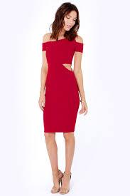 cut out dress wine dress cutout dress the shoulder dress 30 00