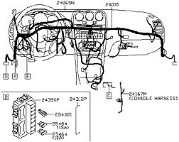 2000 nissan frontier factory radio wiring diagram nissan frontier