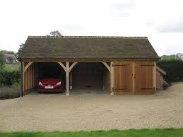 3 bay garage draycote shires oak buildings