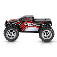 nitro rc monster trucks original pxtoys no 9300 1 18 2 4ghz 4wd sandy land monster truck