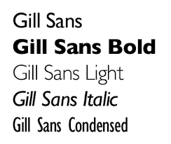 gill sans light font visual aesthetics iii basics of typography fastexposure