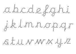 teacher u0027s pet editable dotted cursive letter formation pack
