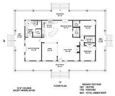 square house plans with wrap around porch cottage floor plan the porch and fireplace future