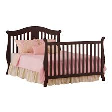 Baby S Dream Convertible Crib by Storkcraft Espresso Vittoria 3 In 1 Fixed Side Convertible Crib