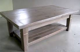 Pine Coffee Table Farmhouse Coffee Tables