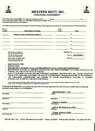 equipment purchase agreement template template update234 com