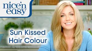 how to choose a sun kissed summer hair colour nice u0027n easy youtube