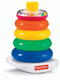baby plastic rings images Fisher price n8248 rock a stack baby educational stacking toy jpg