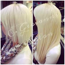 Vancouver Hair Extensions by Platinum Blonde Before And After Lengthening Service Using Great