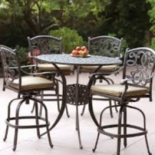 Patio Chairs Bar Height Make A Beautification For Your Home By Using Bar Height Patio Set