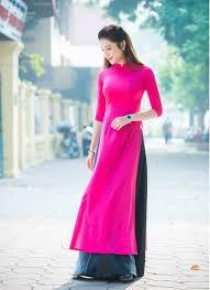 modern dress modern ao dai designs pink dress black skirt