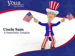 uncle sam a powerpoint template from presentermedia com
