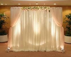 wedding backdrop cost services