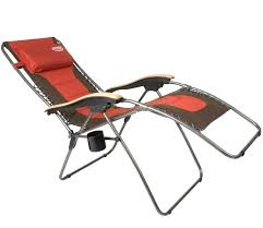 Zero Gravity Chair With Side Table Xl Zero Gravity Lounge Chair Standard Padded Lounger With Canopy