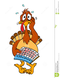 thanksgiving turkey clipart images nervous thanksgiving turkey royalty free stock images image