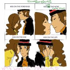 Professor Layton Meme - kiss meme layton and emmy lazyness by seriia on deviantart