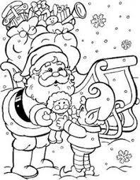 free printable christmas coloring pages bing images