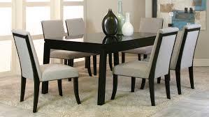 28 black formal dining room sets nicole black glass top