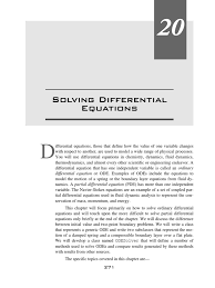 solving differential equations in java boundary layer ordinary