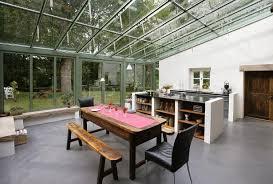 veranda cuisine photo modele cuisine dans veranda avec des id es of cuisine veranda