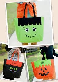 trick or treat bags halloween pinterest bag cricut and