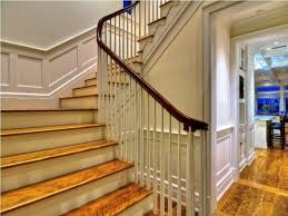 interior inspiring stair case design with brown oak stair tread co