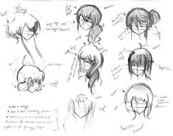 names of anime inspired hair styles anime hairstyles by kacaramellove on deviantart